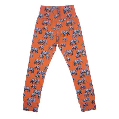 Orange Elephant Leggings