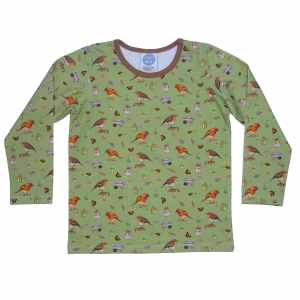 Olive Robin Top