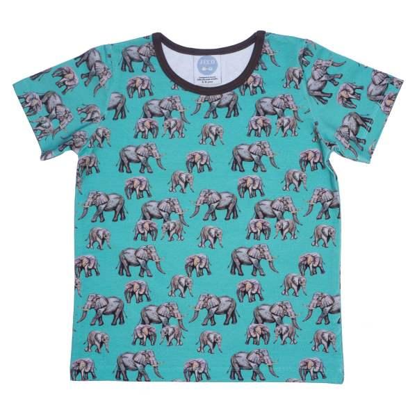 Aqua Elephant Tshirt