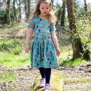 Blue Rainforest Dress