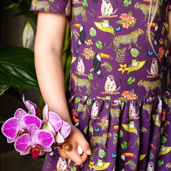 Purple Rainforest Dress
