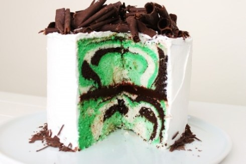 St. Paddy's Day Mint Cake