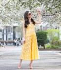 Yellow Lace Dress - Dressed Deniz