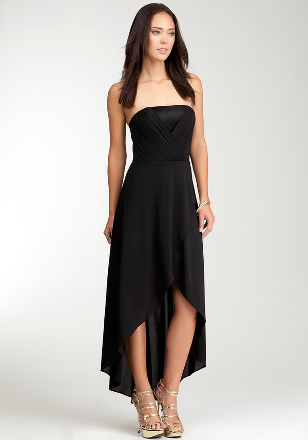 Black High Low Dress  Dressed Up Girl