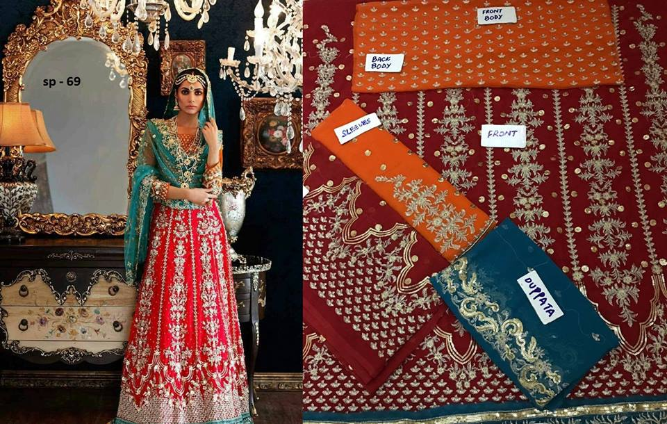 Latest Bridal Mehndi Dress 2017  Pakistani Dresses