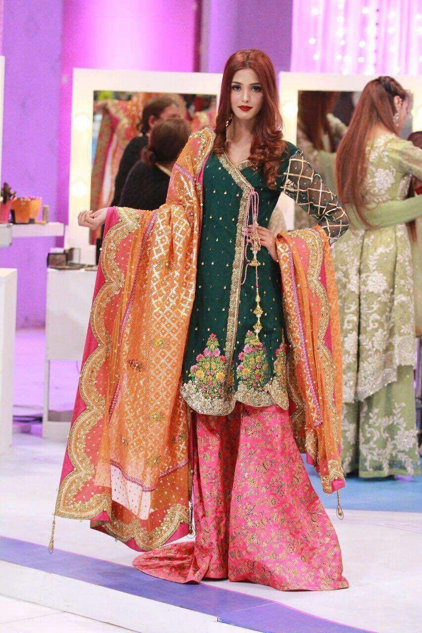 Kashees Bridal Dress Collection 2018