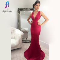 long red dress with slit - Dresses Ask