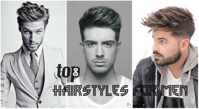 top 8 best hairstyles for men 2018 designs and haircuts names