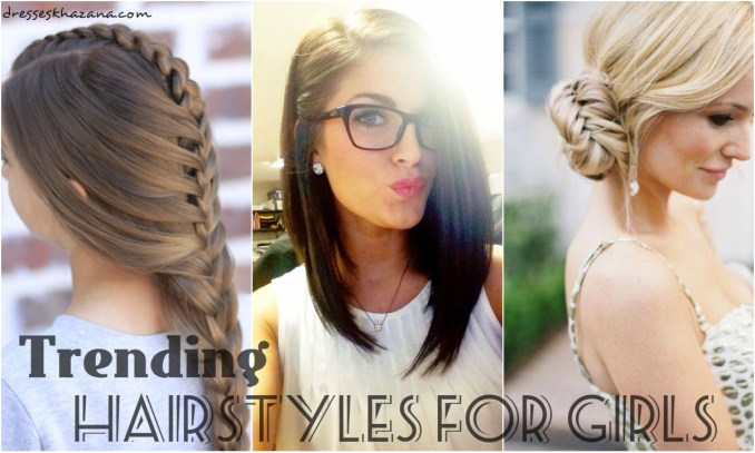 list of trending hairstyles for girls 2018 in pakistan with