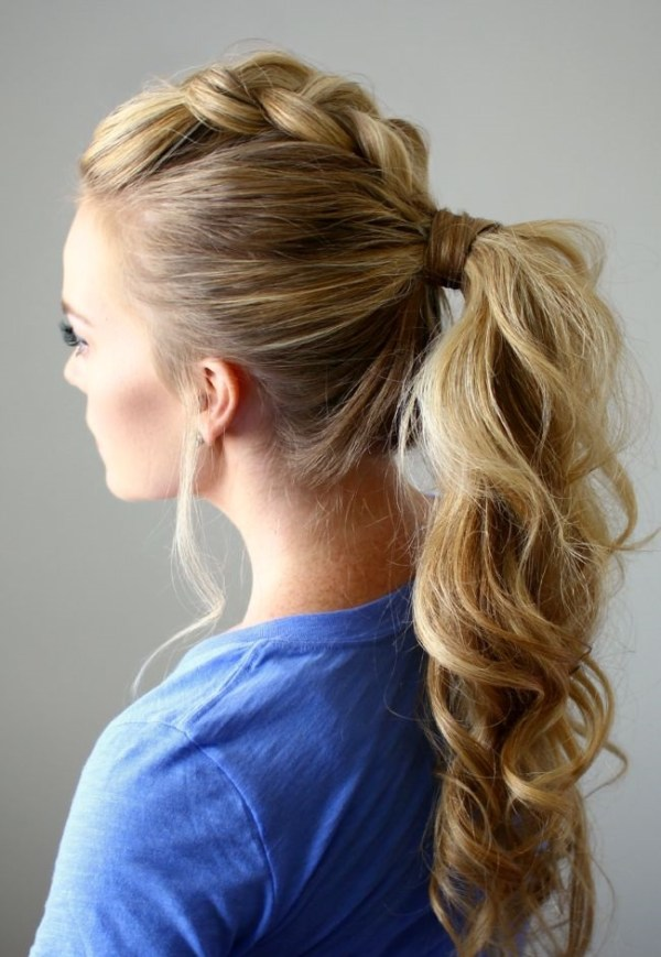 30 Prom Ponytail Hairstyles Hairstyles Ideas Walk The Falls