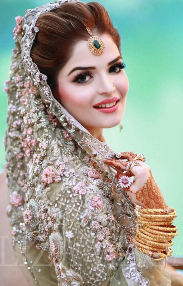 beautiful bridal makeup 2018 for wedding, nikah & engagement