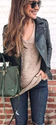 Badass leather clothes for women (001) | fashion