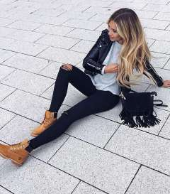 Badass leather clothes for women (002) | fashion
