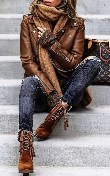 Badass leather clothes for women (009)   fashion