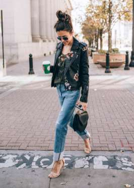 Badass leather clothes for women (018)   fashion