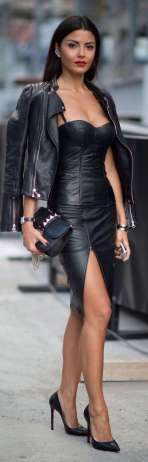 Badass leather clothes for women (023) | fashion