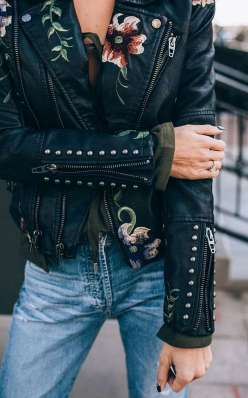 Badass leather clothes for women (038) | fashion