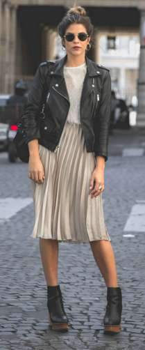 Badass leather clothes for women (040) | fashion