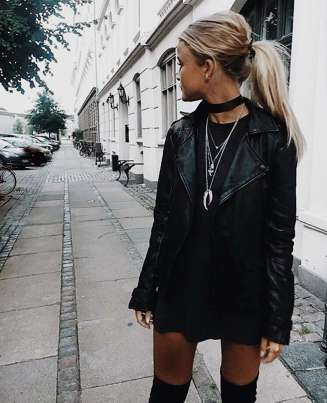 Badass leather clothes for women (043) | fashion