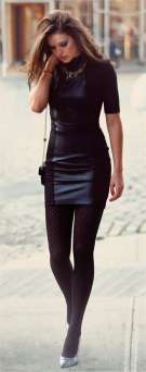 Badass leather clothes for women (046) | fashion