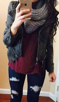 Badass leather clothes for women (049) | fashion