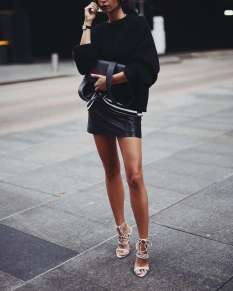 Badass leather clothes for women (060) | fashion