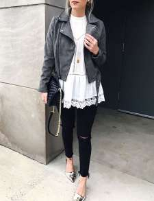 Badass leather clothes for women (061) | fashion