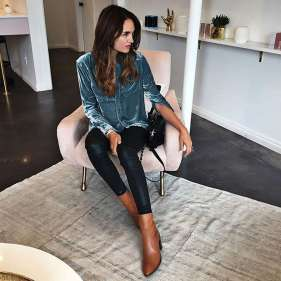 Badass leather clothes for women (068) | fashion