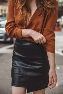 Badass leather clothes for women (073)   fashion
