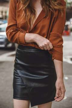 Badass leather clothes for women (073) | fashion