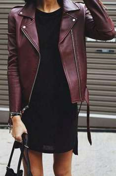 Badass leather clothes for women (079) | fashion