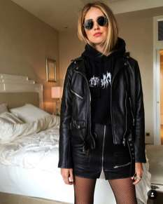 Badass leather clothes for women (083) | fashion