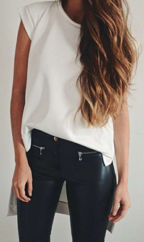 Badass leather clothes for women (092) | fashion