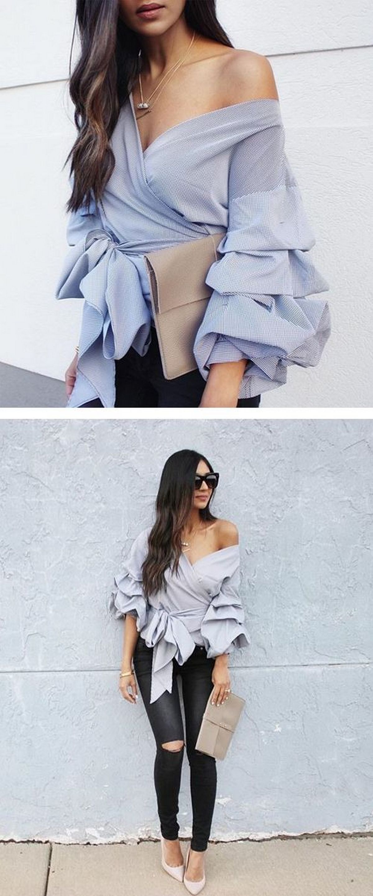 Blouse design idea and inspiration 003 fashion