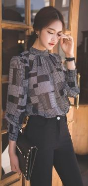 Blouse design idea and inspiration 011 fashion