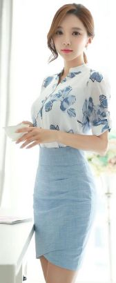 Blouse design idea and inspiration 048 fashion