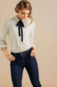 Blouse design idea and inspiration 056 fashion
