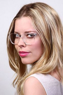 Clear Glasses Frame For Women's Fashion Ideas #Transparent #Eyeglass (03)