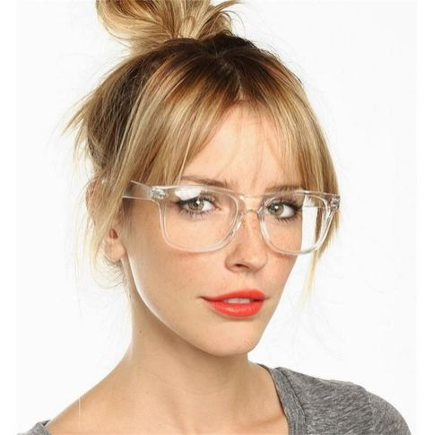 Clear Glasses Frame For Women's Fashion Ideas #Transparent #Eyeglass (09)