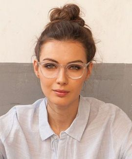Clear Glasses Frame For Women's Fashion Ideas #Transparent #Eyeglass (16)