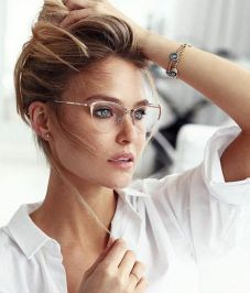 Clear Glasses Frame For Women's Fashion Ideas #Transparent #Eyeglass (23)