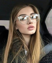 Clear Glasses Frame For Women's Fashion Ideas #Transparent #Eyeglass (30)
