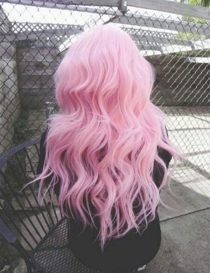 Colorful pink hairstyles (25)