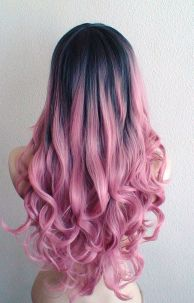 Colorful pink hairstyles (26)