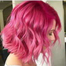 Colorful pink hairstyles (36)