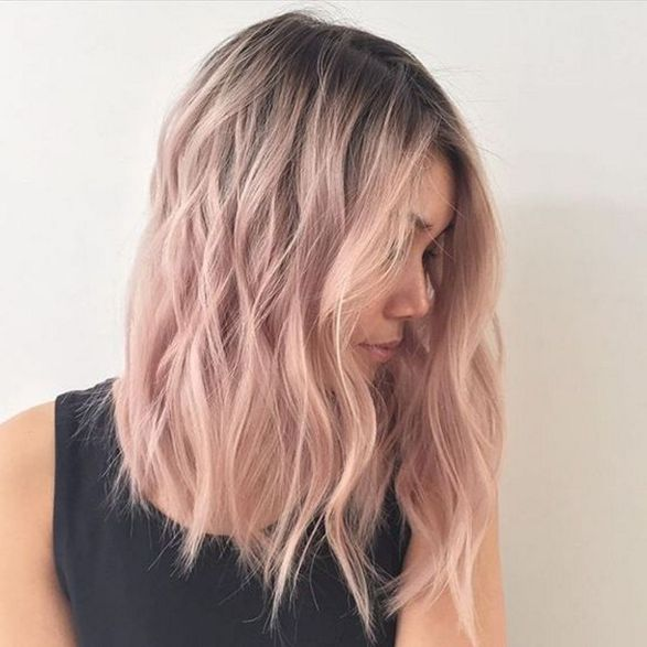Colorful pink hairstyles (37)