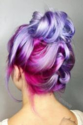 Colorful pink hairstyles (47)