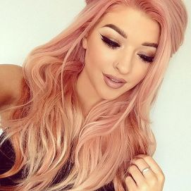 Colorful pink hairstyles (9)