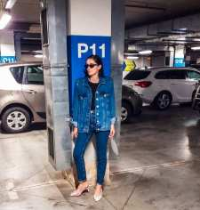 Denim jacket for women street style ideas (32)