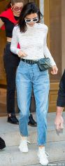 Dailymail.co.uk Style Swoon FEMAIL Reveals The Fashions Were Kendall Jenner, 21, Stepped Out This Week With two Different Designer Bum Bags